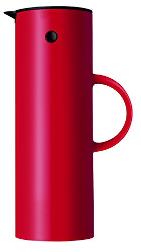 Stelton EM77 Vacuum Jug, 33.8 oz, red by Stelton