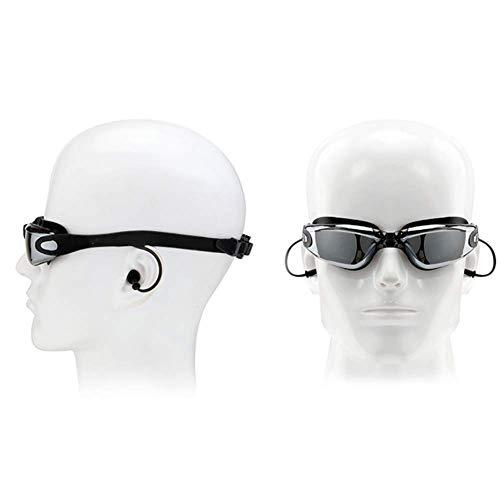 De Estructura UV De Fugas Natación WFFH De Diseñada Ajustable Adultos Natación Nariz Anti Sin Desmontable para Espejo Gafas Antivaho Gafas De Bolsa Zaaq0In7