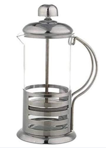 (French Press with Elegant Stripe Design - Brew Fresh Coffee and Tea 12 Oz)