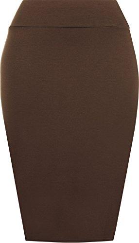 Papaval - Falda - Estuche - para mujer marrón