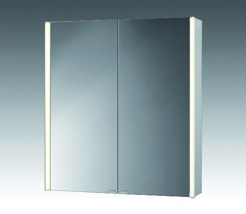 Jokey Spiegelschrank CantALU 67cm aluminium, 124812010-0190