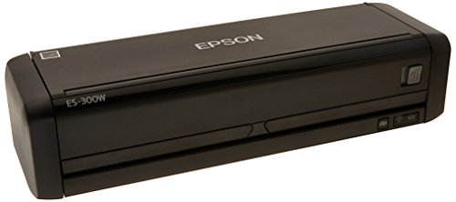 Epson Workforce ES-300W Wireless Color Portable Document Scanner with ADF for PC and Mac, Sheet-fed and Duplex Scanning (Certified Refurbished)