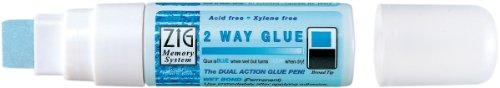 Bulk Buy: Zig 2 Way Glue Pen Bulk Jumbo Tip (12-Pack) ()