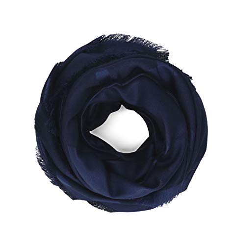 Salvatore Ferragamo Women's 674726 Blue Silk Scarf