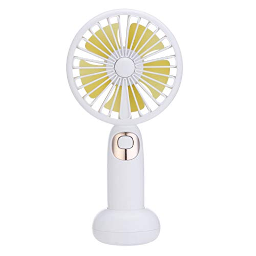 Elevin(TM)  New Mini Portable USB Rechargeable Sweet Blossoming Bluetooth Music Fan (White) -