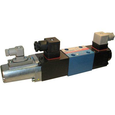 Vickers KFDG4V Series 4 Way Proportional Hydraulic Directional Valve, Closed Spool Type, 5000 psi Maximum Pressure, 24VDC, 16 gpm Flow Rate