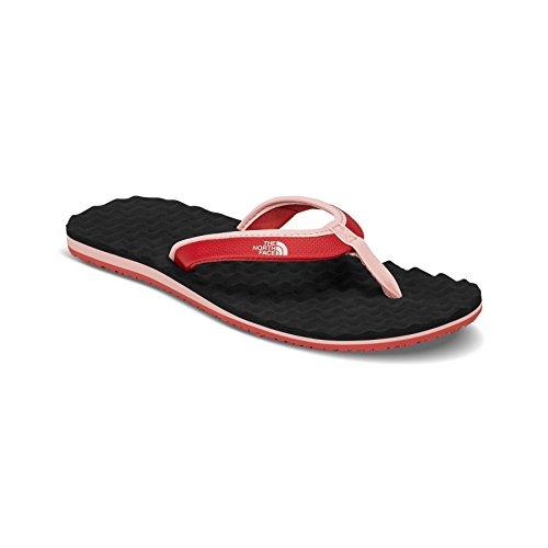 's Base Camp Mini Beach Lightweight Summer Flip Flops - Dark Pink/Black - 9 ()