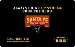 Santa Fe Cattle Co. Gift Card ($50) (Southwest Gift Certificates)