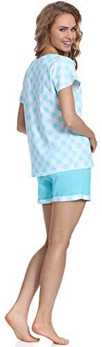 Cornette Pijama para mujer CR 675 69 Rabbit Turquesa
