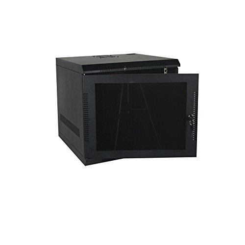 """Quest Manufacturing EZ-Assembly Wall mount Enclosure, 7 Unit, 19"""" x 20.5W x 20""""D, Black (EZ19-07-02)"""