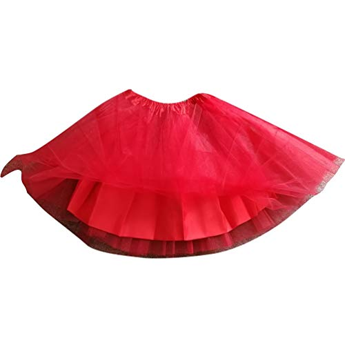 Jupe 17 Court Ballet Ballet Comme Tutu Jupon Tulle Tutu Tulle Varies Image YAANCUNN Pettiskirt en Femme Couleurs en YqRTF