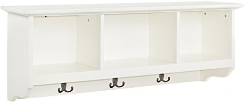 Crosley Furniture Brennan Entryway Hanging Storage Shelf - White by Crosley Furniture