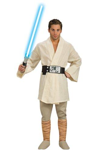 Deluxe Luke Skywalker Adult Costume - Standard]()