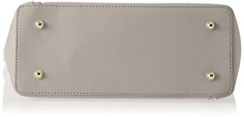Chicca Borse 8611, Borsa a Spalla Donna, 36x28x12 cm (W x H x L) Beige (Taupe)