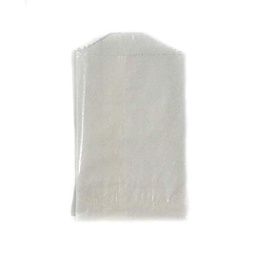 Glassine Bags Favor (- 100 - Flat Glassine Wax Paper Bags - 2 3/4in x 4 1/4in - (7cm x 11cm) - Extra Small (XS))