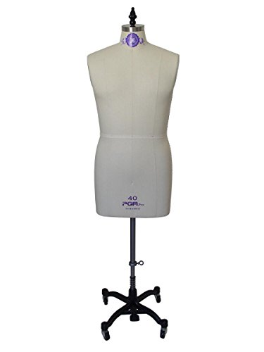 PGM Professional Male Dress Form Tailor Dummy Mannequin Sizes 36-42 (40) -  PGM Pro Inc, 607