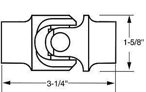 Borgeson 216464 Universal Joint