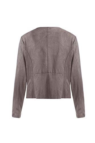 Cachi Outerwear Donne Asimmetrici Cardigan Fronte Giacca Aperto Le Yulinge Bavero HExRwzOzq