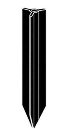 Kichler Lighting 15578BK 23-Inch PVC Bollard Mounting Stake, Black by Kichler