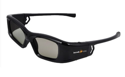 """MITSUBISHI-Compatible Active """"Rechargeable"""" 3D Glasses Works"""