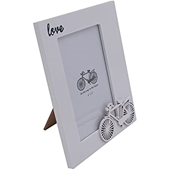 Amazon White Frame Contracted Desktop Picture Frames Bedside