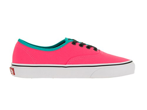 Women's Black Pink Authentic Vans Neon qYAwagg