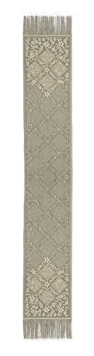 Heritage Lace Chantilly Table Runner, Gold, (Chantilly Lace Runner)