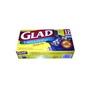 glad-quick-tie-lawn-and-leaf-trash-bags-12ct-pack-of-24
