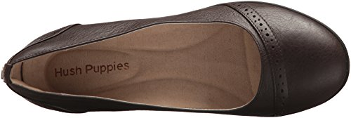 Women's Pump Odell Slipon Leather Puppies Hush Dark Brown aUwI5Enq