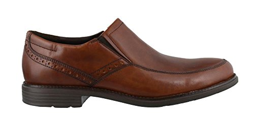 Rockport Men's Total Motion Classic Dress Slip-On New Brown 8.5 W (EE)