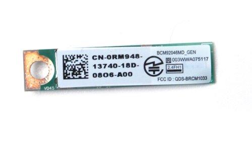 Genuine Dell RM948, 0RM948 365 128 Bit 2.4 GHz Bluetooth Mini Card Module For Studio 1450, 1457, 1458, 1557, 1558, 1569, 1745, 1747, 1749, 15r, Vostro 1220, 3300,3 400, 3500, 3700, V13, Inspiron 11z, 1110, 1320, 1370, 1440, 1464, 1470, 1570, 1545, 1546, 1 by Dell (Image #1)