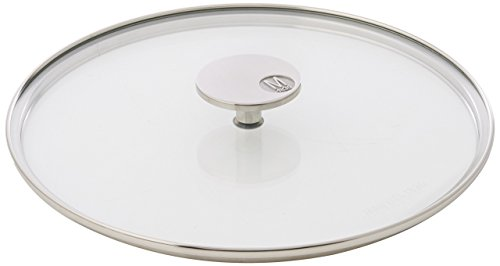 Mauviel Made In France M'360 5318.26 10.2-Inch Glass Lid with Cast Stainless Steel