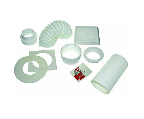 Electruepart Round Vent Kit - Vent kit round universal for tumble dryers