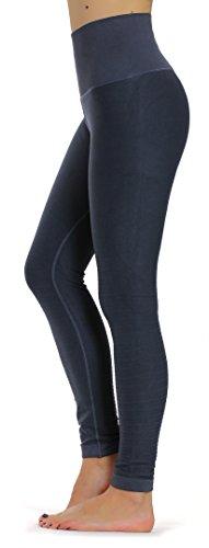 Prolific Health High Compression Women Pants Yoga Fitness Leggings (Medium/Large, Charcoal)