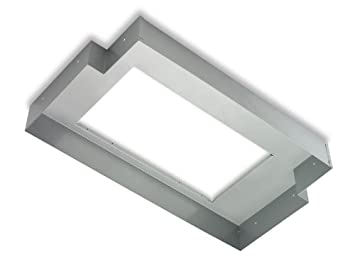 Broan LT36 36N T-Shaped Hood Liner for Kitchen Range Hoods, Silver, 36