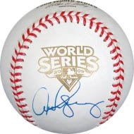 Alex Rodriguez Signed 2009 W.S. Baseball-Official