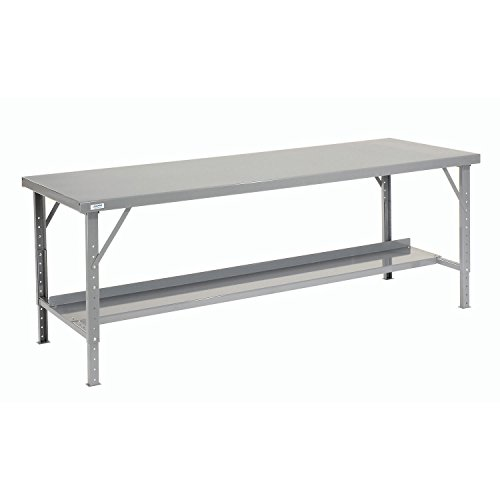 Heavy-Duty Extra Long Folding Assembly Workbench, 96