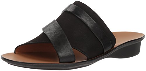 Paul Green Women's Bayside Flip Flop, Black, 6.5 M US by Paul Green