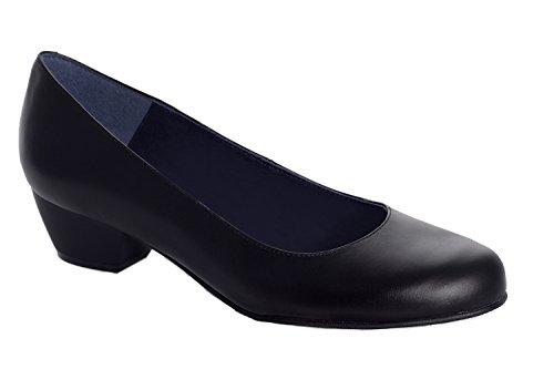 Oneflex Lea nero - scarpe comode da donna di laboro