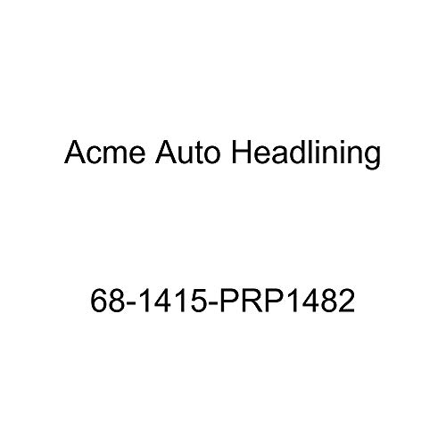 Acme Auto Headlining 68-1415-PRP1482 Medium Blue Replacement Headliner (Chevrolet Impala 4 Door Hardtop 5 Bow)