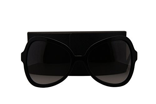Prada PR05SS Sunglasses Black w/Grey Gradient Lens 1AB0A7 SPR05S SPR 05S PR - Butterfly Prada Sunglasses