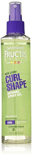 Garnier Fructis Style Curl Shaping Spray Gel Strong 8.50 oz (Pack of (Direction Shaping Hair Spray)