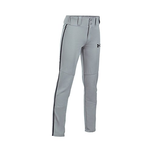 Under Armour UA Heater Piped Baseball YMD Baseball Gray -