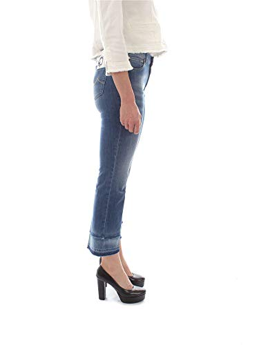Frida W5 00907 Crop Jacob Donna Blu Fringe Jeans Cohen g5qz7c7wX