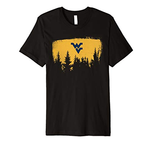 West Virginia Mountaineers Forest Home T-Shirt - Apparel