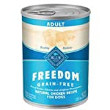 Blue Buffalo Freedom Grain Free Adult Chicken Recipe Canned Dog Food, My Pet Supplies