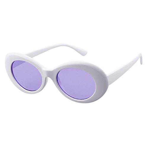 Lentes Rapper Shades Polarizado sol Mujer Gafas Espejo Gafas Clásico Sol unisex Clout Gafas Brillo de Goggles UV Grunge Portección HombreRetro E Vintage Unisex Oval de 8CwqZ8vH