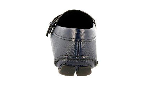 Prada Men's 2DD110 C5S F0I47 Saffiano Leather Loafers bRTSL