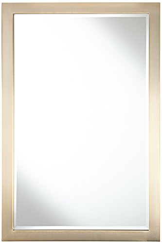 Possini Euro Metzeo French Brass 22''x33'' Wall Mirror by Possini Euro Design