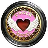 MRC Hand Painted Poker Card Guard Protector - Poker Angel